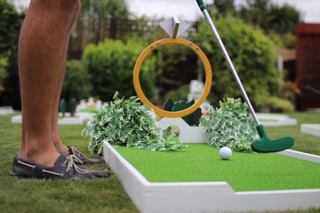 Wedding Crazy Golf Course Hire Brentwood