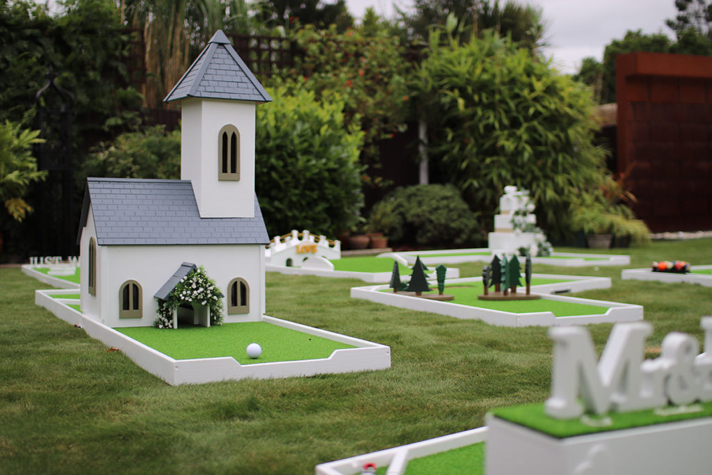 Wedding Mini Golf Course Hire Brentwood